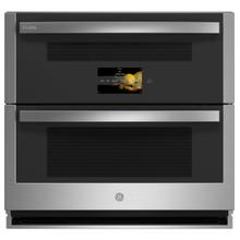 """See Details - GE Profile™ 30"""" Smart Built-In Twin Flex Convection Wall Oven"""