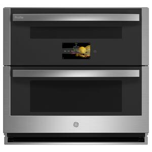 """GE ProfileGE Profile™ 30"""" Smart Built-In Twin Flex Convection Wall Oven"""