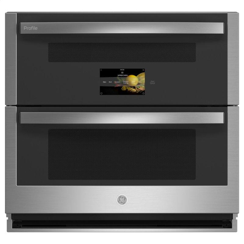 "30"" Smart Built-In Twin Flex Convection Wall Oven"