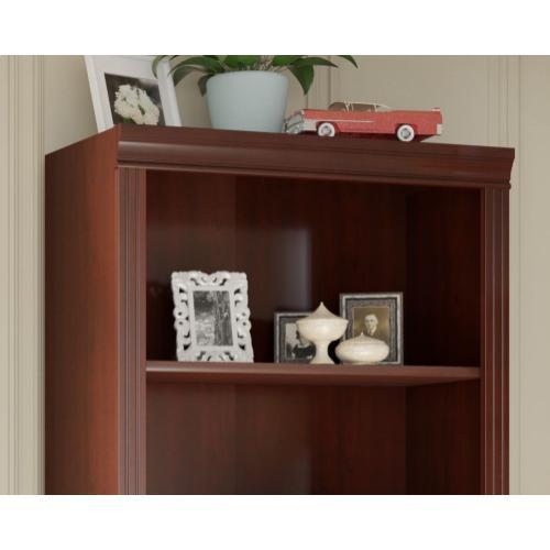 Bennington 5 Shelf Bookcase - Harvest Cherry