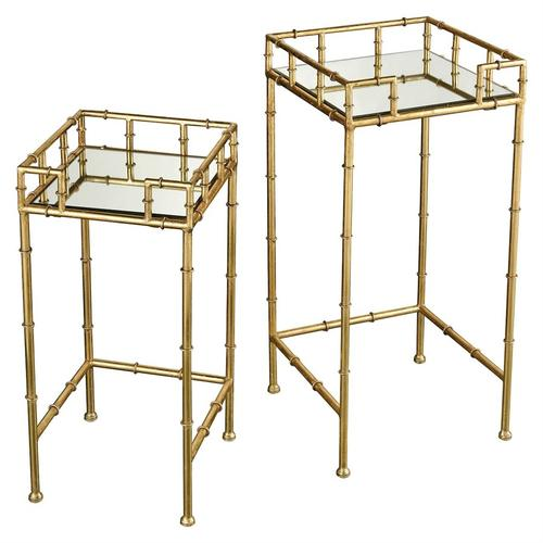 King Priam Accent Tables - Square (set of 2)