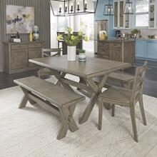 Mountain Lodge 5 Piece Dining Set