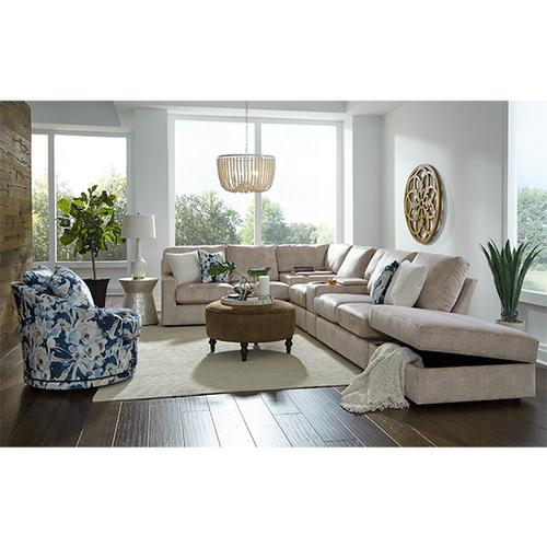 Best Home Furnishings - DOVELY SECTIONAL Stationary Sectional