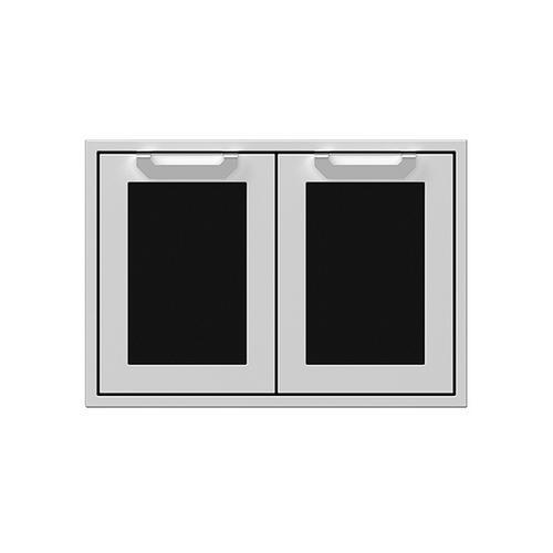 "30"" Hestan Outdoor Double Access Doors - AGAD Series - Stealth"