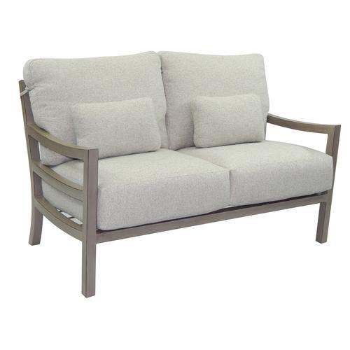 Castelle - Roma Cushioned Lounge Loveseat
