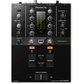 2-channel DJ mixer with independent channel filter