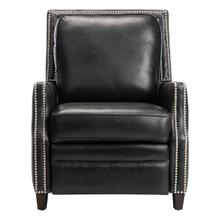 See Details - Buddy Leather Recliner - Black