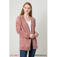 Velour Me In Cardigan - L/XL (3 pc. ppk.)