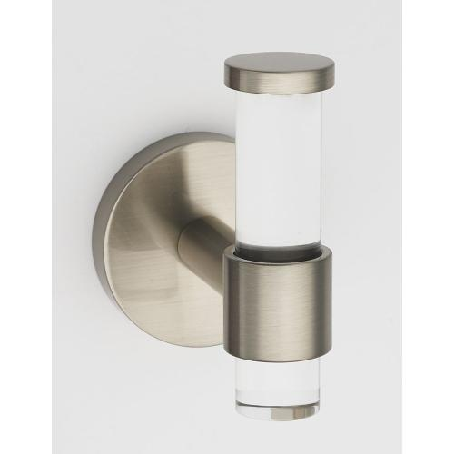 Acrylic Contemporary Robe Hook A7281 - Unlacquered Brass