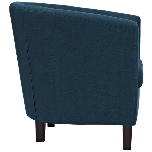 Prospect 2 Piece Upholstered Fabric Loveseat and Armchair Set in Azure