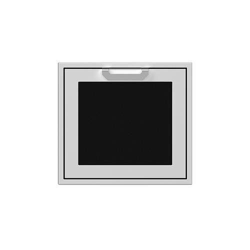 """24"""" Hestan Outdoor Single Access Door - AGADR Series - Stealth"""