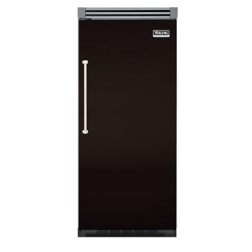 "Viking - Chocolate 36"" Quiet Cool™ All Refrigerator - VIRB Tru-Flush™ (Right Hinge Door)"