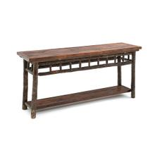 Old Yellowstone Spindle Sofa Table