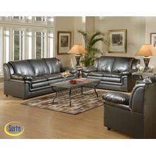 Marshall Walnut Bonded Sofa