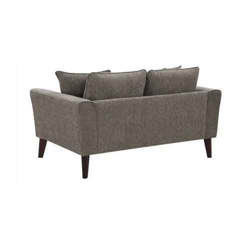 Percy Gray Sofa, Loveseat & Chair, U5310