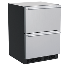 See Details - 24-In Built-In Refrigerated Drawers with Door Style - Stainless Steel