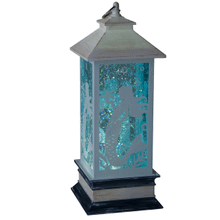 Lighted LED Shimmer Mermaid Lantern