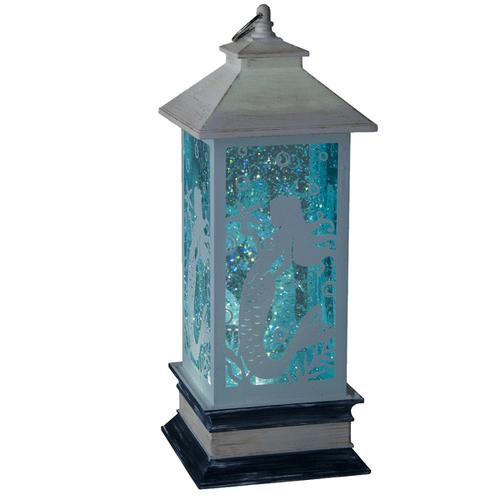 Lighted LED Shimmer Mermaid Lantern