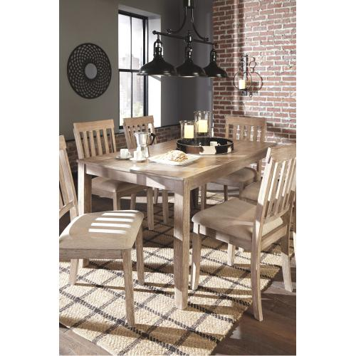 Mattilone Dining Room Table and Chairs (set of 7)
