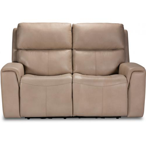 Product Image - Jarvis Power Reclining Loveseat with Power Headrests