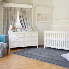 See Details - Warm White Darlington 6-Drawer Dresser