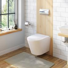 Product Image - White VISTA Wallhung Toilet