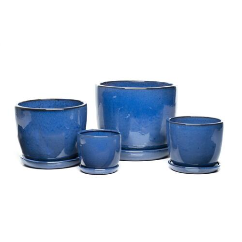 Sasha Planters, Cobalt Blue - Set of 4