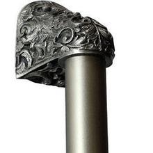 Acanthus - Antique Pewter Plain Bar