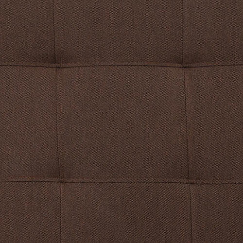 Flash Furniture - Bedford Tufted Upholstered Queen Size Headboard in Dark Brown Fabric