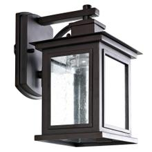 Gorgen Outdoor Wall Lantern - Oil Rubbed Bronze (black)