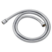 Decorative Metal Hand Shower Hose - Polished Chrome
