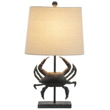 Crab Table Lamp. 60W Max.