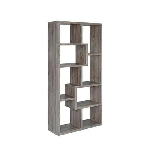 Coaster - Geometric Display Shelf