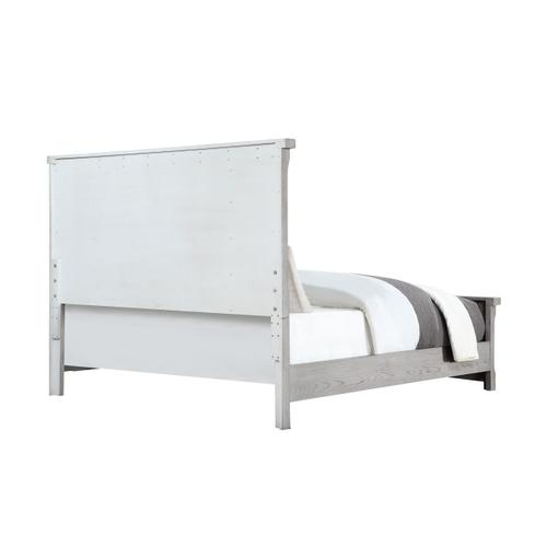 Legends King Bed, Light Gray