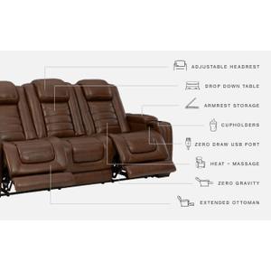 Signature Design By Ashley - Backtrack Power Reclining Sofa