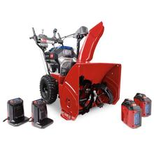 """See Details - 24"""" (61 cm) 60V MAX* (2 x 6.0 ah) Electric Battery Power Max e24 Two-Stage Snow Blower (39924)"""