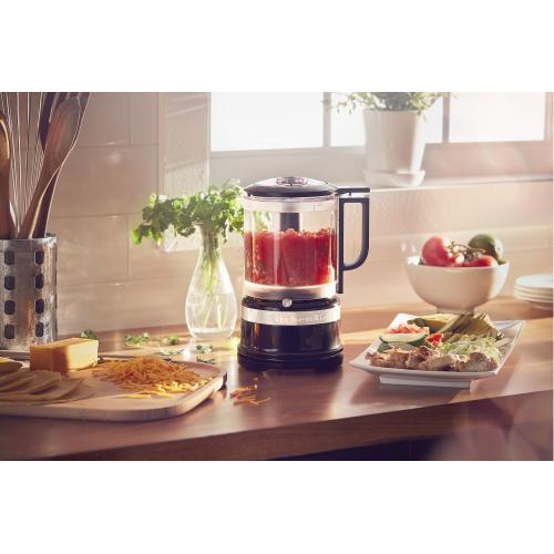 KitchenAid - 5 Cup Food Chopper - Onyx Black