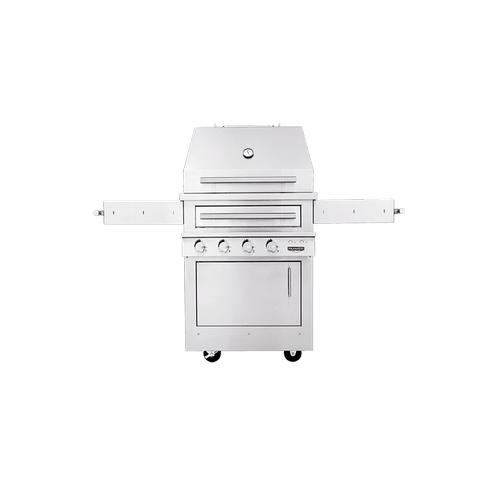 K500 Freestanding Hybrid Fire Grill