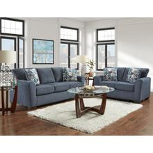 Allure Navy (Sofa & Love) Sofa