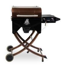 See Details - Mahogany 260 Portable Wood Pellet Grill