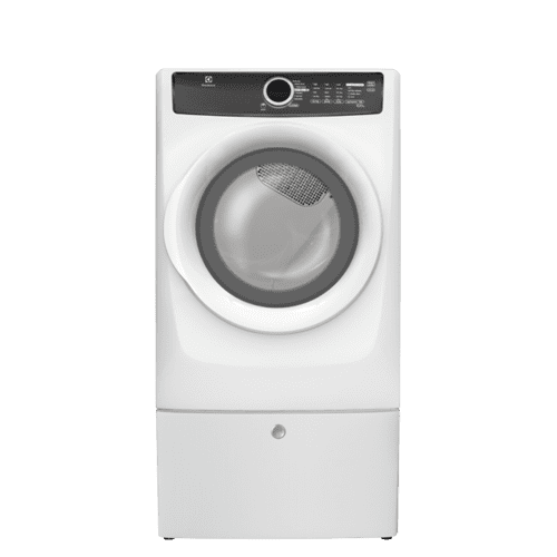 Electrolux - Front Load Perfect Steam Electric Dryer with 7 cycles - 8.0 Cu. Ft.