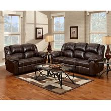 Exceptional Designs by Flash Reclining Living Room Set in Brandon Brown Leather