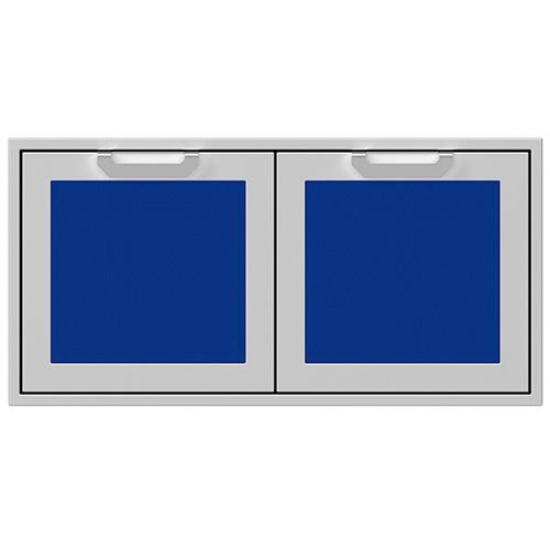 """Hestan - 42"""" Hestan Outdoor Double Storage Doors - AGSD Series - Prince"""