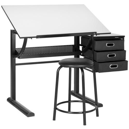 Harvard Writing Desk - Black & White