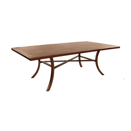 """Castelle - 86"""" Transitional Rectangular Dining Table"""