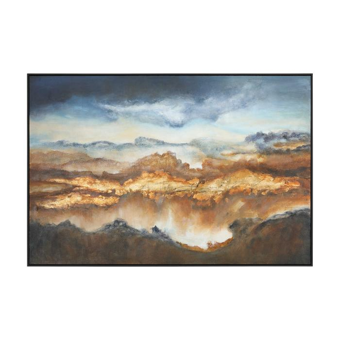 Uttermost - Valley Of Light Hand Painted Canvas
