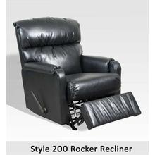 Marshall Black(B 200RCL - Rocker Recliner