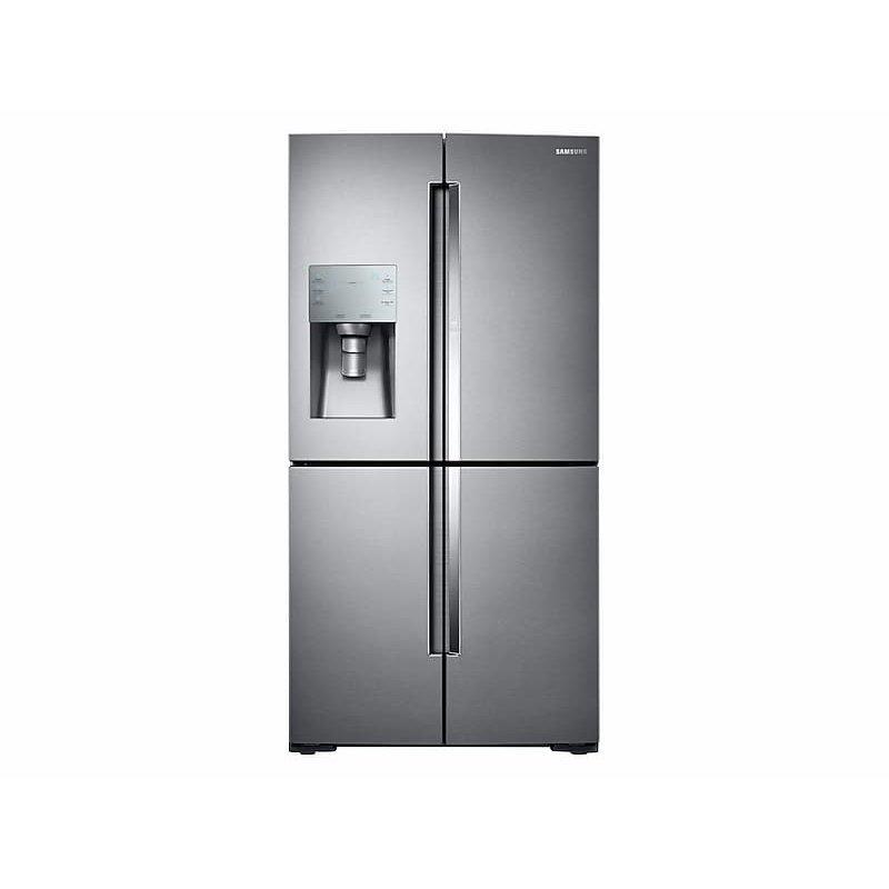 28 cu. ft. Food Showcase 4-Door Flex™ Refrigerator with FlexZone™ in Stainless Steel