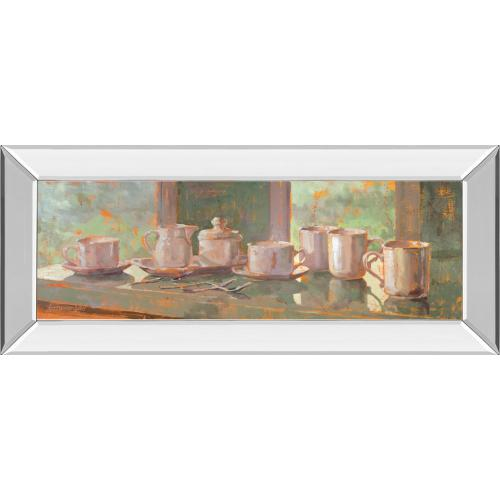 """""""Gathering Il"""" By Lorraine Vail Mirror Framed Print Wall Art"""