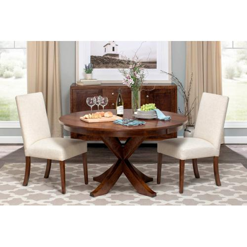 Simply Amish - Parkdale Single Pedestal Table - QuickShip